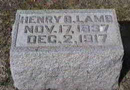 LAMB, HENRY B. - Black Hawk County, Iowa   HENRY B. LAMB