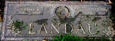 LANDAU, WILBERT ANDREW - Black Hawk County, Iowa | WILBERT ANDREW LANDAU