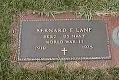 LANE, BERNARD F. - Black Hawk County, Iowa | BERNARD F. LANE