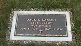 LARSEN, JACK G. - Black Hawk County, Iowa | JACK G. LARSEN