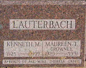 LAUTERBACH, MAUREEN T. - Black Hawk County, Iowa | MAUREEN T. LAUTERBACH