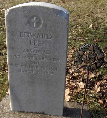 LEE, PVT. EDWARD - Black Hawk County, Iowa | PVT. EDWARD LEE