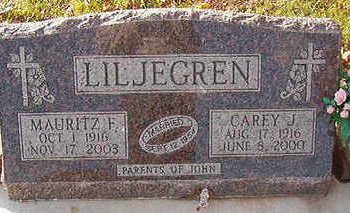 LILJEGREN, CAREY J. - Black Hawk County, Iowa | CAREY J. LILJEGREN