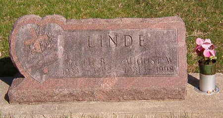 LINDE, AUGUST W. - Black Hawk County, Iowa | AUGUST W. LINDE
