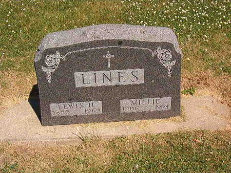 LINES, MILLIE - Black Hawk County, Iowa | MILLIE LINES