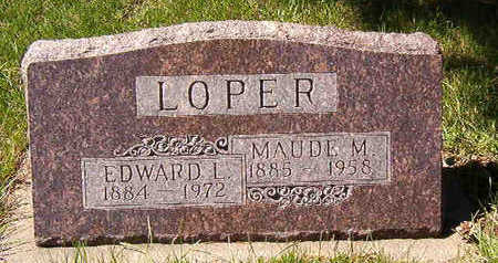 LOPER, MAUDE M. - Black Hawk County, Iowa | MAUDE M. LOPER