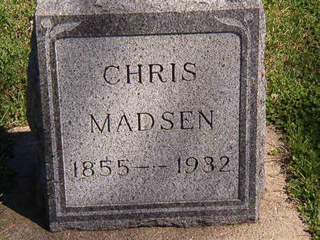 MADSEN, CHRIS - Black Hawk County, Iowa | CHRIS MADSEN