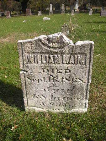 MAIN, WILLIAM - Black Hawk County, Iowa | WILLIAM MAIN