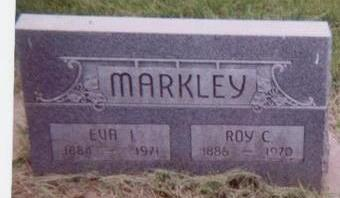 MARKLEY, EVA I. - Black Hawk County, Iowa | EVA I. MARKLEY