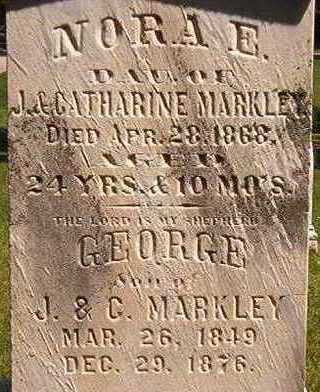 MARKLEY, GEORGE - Black Hawk County, Iowa | GEORGE MARKLEY