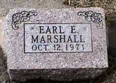 MARSHALL, EARL E. - Black Hawk County, Iowa | EARL E. MARSHALL
