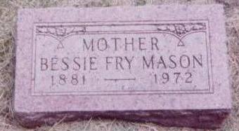 FRY MASON, BESSIE - Black Hawk County, Iowa | BESSIE FRY MASON
