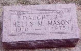 MASON, HELEN M. - Black Hawk County, Iowa | HELEN M. MASON
