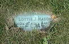 MASON, LOTTIE J. - Black Hawk County, Iowa | LOTTIE J. MASON