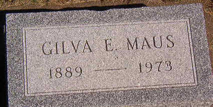 MAUS, GILVA E. - Black Hawk County, Iowa | GILVA E. MAUS