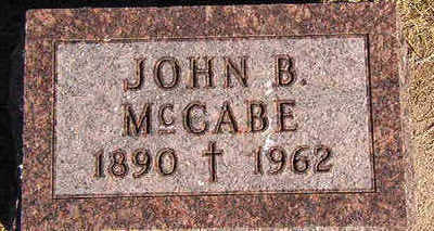 MCCABE, JOHN B. - Black Hawk County, Iowa | JOHN B. MCCABE