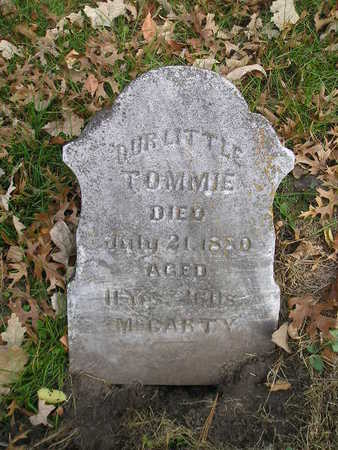 MCCARTY, TOMMIE - Black Hawk County, Iowa   TOMMIE MCCARTY