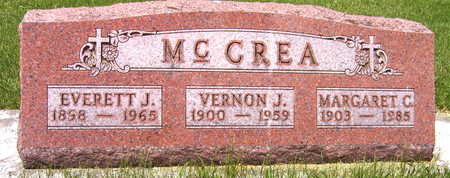 MCCREA, VERNON J. - Black Hawk County, Iowa | VERNON J. MCCREA