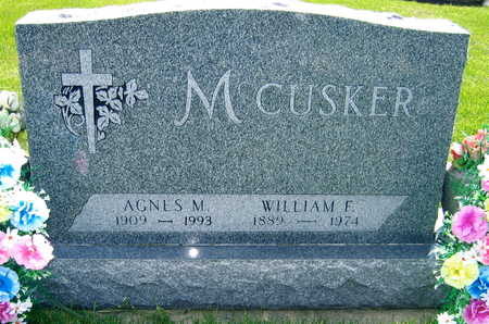 MCCUSKER, WILLIAM F. - Black Hawk County, Iowa | WILLIAM F. MCCUSKER
