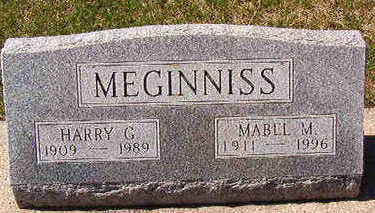 MEGINNISS, MABLE M. - Black Hawk County, Iowa | MABLE M. MEGINNISS