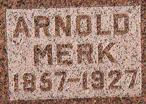 MERK, ARNOLD - Black Hawk County, Iowa | ARNOLD MERK