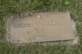 MERRILL, HAROLD W. - Black Hawk County, Iowa | HAROLD W. MERRILL
