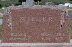 MILLER, MARIETTA E. - Black Hawk County, Iowa | MARIETTA E. MILLER