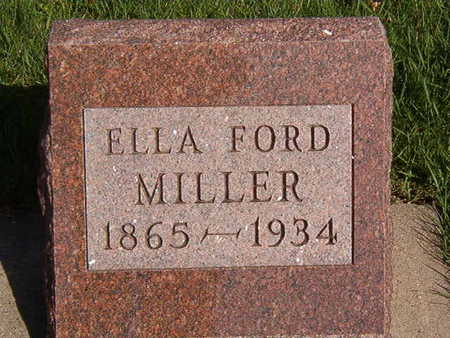 MILLER, ELLA FORD - Black Hawk County, Iowa | ELLA FORD MILLER