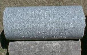 MAUST MILLER, MAGGIE - Black Hawk County, Iowa | MAGGIE MAUST MILLER