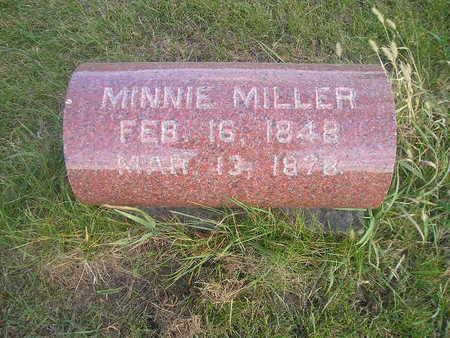 MILLER, MINNIE - Black Hawk County, Iowa | MINNIE MILLER