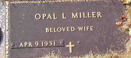 MILLER, OPAL L. - Black Hawk County, Iowa | OPAL L. MILLER