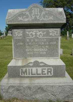 MILLER, BARBARA - Black Hawk County, Iowa | BARBARA MILLER