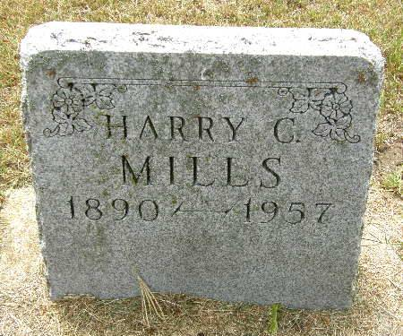 MILLS, HARRY C. - Black Hawk County, Iowa   HARRY C. MILLS