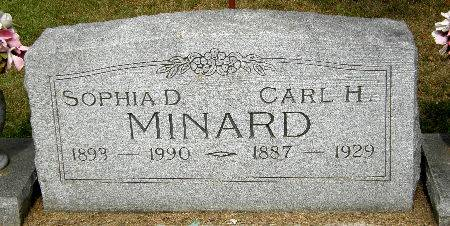 MINARD, CARL H. - Black Hawk County, Iowa | CARL H. MINARD