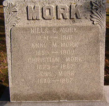 MORK, ANNE M. - Black Hawk County, Iowa | ANNE M. MORK