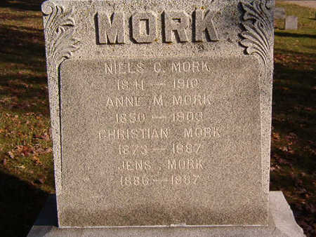 MORK, JENS - Black Hawk County, Iowa | JENS MORK