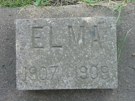 MORROW, ELMA - Black Hawk County, Iowa | ELMA MORROW