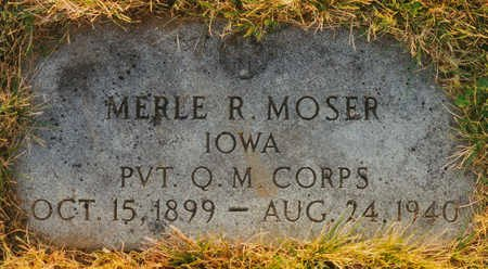MOSER, MERLE R. - Black Hawk County, Iowa | MERLE R. MOSER