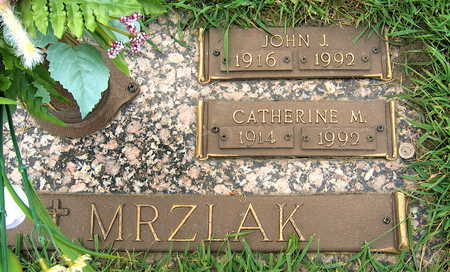 MRZLAK, JOHN J. - Black Hawk County, Iowa | JOHN J. MRZLAK