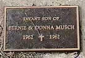 MUSCH, INFANT SON - Black Hawk County, Iowa   INFANT SON MUSCH