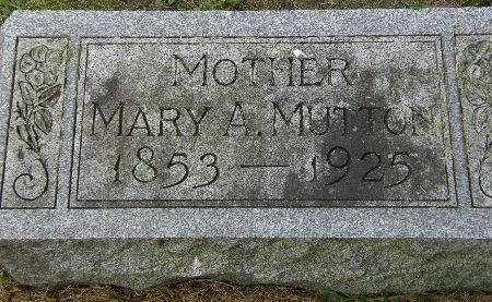 MUTTON, MARY A. - Black Hawk County, Iowa | MARY A. MUTTON