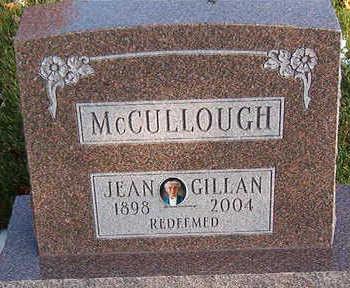 NCCULLOUGH, JEAN GILLAN - Black Hawk County, Iowa | JEAN GILLAN NCCULLOUGH