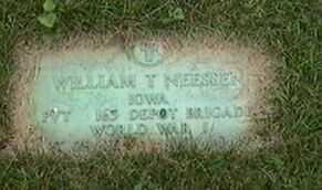 NEESSEN, WILLIAM T. - Black Hawk County, Iowa   WILLIAM T. NEESSEN
