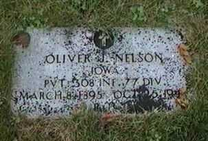 NELSON, OLIVER J. - Black Hawk County, Iowa | OLIVER J. NELSON