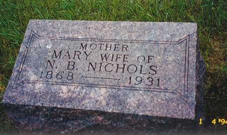 NICHOLS, MARY HELEN - Black Hawk County, Iowa | MARY HELEN NICHOLS