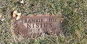NISIUS, FRANKIE JOE - Black Hawk County, Iowa | FRANKIE JOE NISIUS