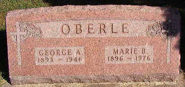 OBERLE, GEORGE A. - Black Hawk County, Iowa | GEORGE A. OBERLE