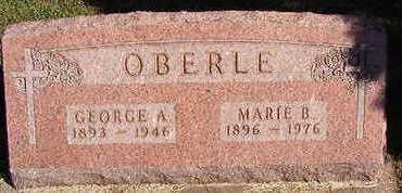 OBERLE, MARIE B. - Black Hawk County, Iowa | MARIE B. OBERLE