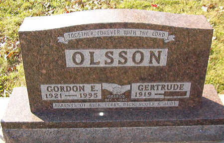 OLSSON, GORDON E. - Black Hawk County, Iowa | GORDON E. OLSSON