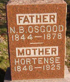 OSGOOD, HORTENSE - Black Hawk County, Iowa | HORTENSE OSGOOD